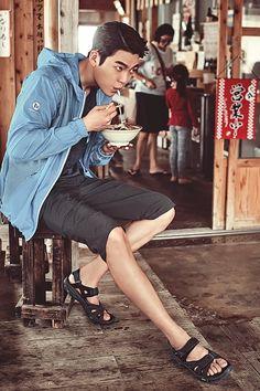 Kim Woo Bin for Merrell Summer 2016 Hot Korean Guys, Korean Men, Asian Men, Asian Actors, Korean Actors, Korean Actresses, Lee Min Ho, Kim Wo Bin, Kim Woo Bin 2016