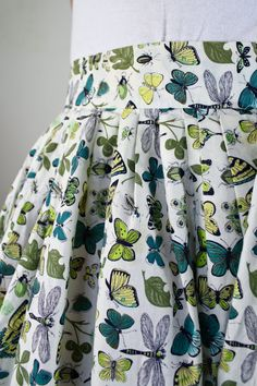 butterfly, bee, beetle print skirt- I need a bug patterned piece of clothing.