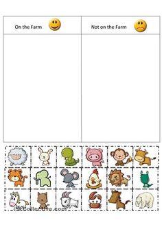 Sorting Worksheets for Kindergarten. 20 sorting Worksheets for Kindergarten. Bug sorting Worksheet Paging Supermom Animal Worksheets, Kindergarten Worksheets, Printable Worksheets, Cut And Paste Worksheets, Coloring Worksheets, Kids Worksheets, Farm Activities, Animal Activities, Farm Animals Preschool