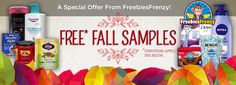 Register now to receive your free fall samples!