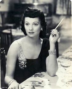 Lucille Ball with dark hair, 1930s  Preserve the memories of your life and era at http://www.saveeverystep.com  #vintage #nostalgia