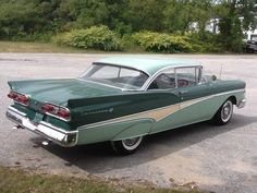 Displaying 12 total results for classic Ford Fairlane 500 Vehicles for Sale. American Classic Cars, Ford Classic Cars, Car Ford, Ford Trucks, 1954 Chevy Bel Air, Old Fashioned Cars, How To Clean Headlights, Car Man Cave, Ford Lincoln Mercury