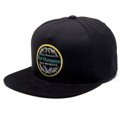 The Hundreds City Strapback Hat (Black) $31.95