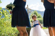 J. La Plante Photo | Denver Wedding Photography | Chatfield Botanic Gardens wedding | Flower girl