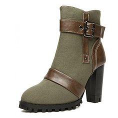 Cool Boots with Buckles
