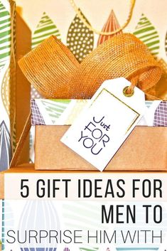 Unique gift ideas for men he will remember the occasion with from The Wardrobe Stylist. Gifts for boyfriend that are affordable, small gifts for him, thoughtful boyfriend gifts perfect for Valentines Day, birthdays, anniversaries, Christmas #GiftForHim #GiftIdeas #GiftsForGuys #GiftsForMen