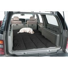 Turn the back of your SUV, or wagon, into a comfortable travel bed for your dog. Made of quilted, strong, durable material and removable for easy cleaning Dog Car Accessories, Dog Seat Belt, Pet Organization, Dog Pads, Puppy Beds, Dog Quilts, Hamster, Dog Items, Pet Furniture