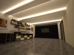 Opções de Forro para Sala de Vídeo - Apartamento Residencial
