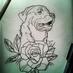 Rott & flower Draw