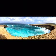 North Coast Aruba...natural beauty. Only way to get there is ATVs or Jeep Tour. Def must see