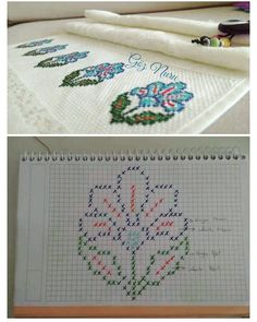 Tunney's Pasture Tunic pattern by Jennifer Ozses - movit mov Cross Stitch Cards, Cross Stitch Rose, Cross Stitch Borders, Cross Stitch Flowers, Cross Stitch Designs, Cross Stitching, Cross Stitch Embroidery, Hand Embroidery, Cross Stitch Patterns