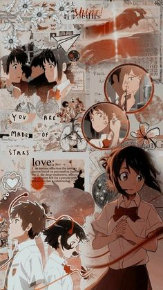 Cute Wallpapers, Cute Backgrounds, Your Name Anime, Anime Background, Anime Wallpaper Iphone, Anime Backgrounds Wallpapers, Anime Wallpaper, Anime Movies, Aesthetic Anime