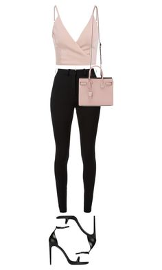 Untitled #872 by nicole-matos on Polyvore featuring polyvore, fashion, style, Victoria Beckham, Yves Saint Laurent, Zoë Chicco and clothing