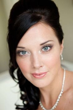 Wedding makeup for blue eyes :: one1lady.com :: #makeup #eyes #eyemakeup…