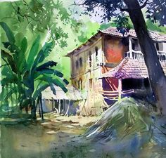 Milind Mulick Watercolour Paintings - 23