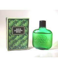 Vintage AGUA LAVANDA PUIG Eau de Cologne Glass 25 ml
