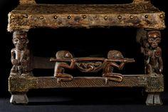 "Chief Trone - Chokwe - Angola (detail) ""citwamo"" (detail)"