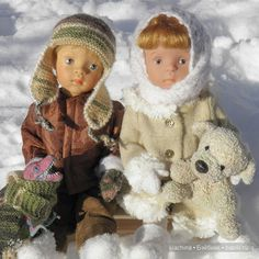 Как Егорушка с Соней Дракона спасали / Sylvia Natterer, Сильвия Наттерер. Коллекционно-игровые куклы / Бэйбики. Куклы фото. Одежда для кукол