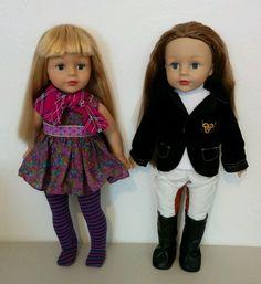 """18"""" Doll Lot Madame Alexander Blond & Brunette"""