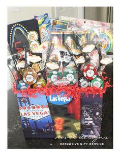 custom las vegas theme gift baskets for las vegas gift