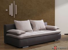 Komfortná dvojmiestna pohovka Elvira, rozkladacia  #sofa #divan #settee #couch