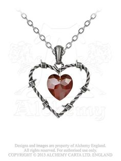 Alchemy Gothic - Love Imprisoned Necklace