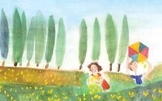 Τρία βιβλία με ιστορίες και ζωγραφιές, εμπνευσμένα από τρεις μεγάλους ποιητές, τον Σεφέρη, τον Ρίτσο, τον Εγγονόπουλο. Tinkerbell, Disney Characters, Fictional Characters, Disney Princess, Painting, Painting Art, Paintings, Tinker Bell, Fantasy Characters