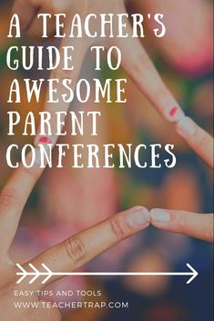 Tips and tricks for awesome parent-teacher conferences! Lead conversations that get parents involved in their child's success at school and get the support you want and need! Parent Teacher Communication, Parent Teacher Conferences, Parent Notes, Parents As Teachers, New Teachers, Student Teaching, Teaching Tips, Teaching Kindergarten, Preschool