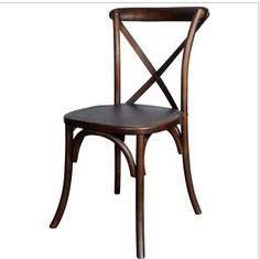 Dark Wood CrossBack Chair (Napa Chair)