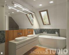 Projekt łazienki - zdjęcie od MIKOŁAJSKAstudio - Łazienka - Styl Nowoczesny - MIKOŁAJSKAstudio