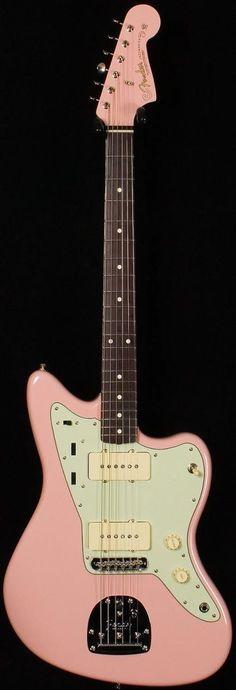 Fender '62 Jazzmaster Thinline Shell pink