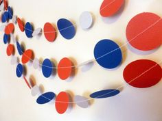 New England Patriots party decoration! https://www.etsy.com/listing/219342917/new-england-patriots-paper-garland-boys