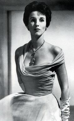 Barbara Cushing Mortimer Paley in 1949, voted one of the world's ten best-dressed women.