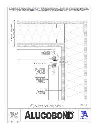Alucobond Details Dryseal Accent Reveal Studio Adi