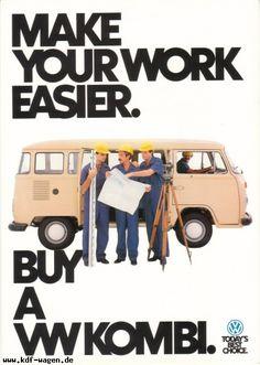 VW - 1981 - Make your work easier.