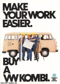 VW - 1981 - Make your work easier.