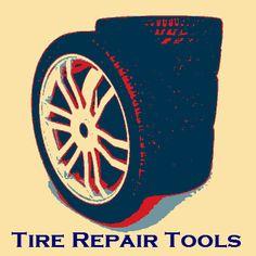 Tire Repair Equipment/Tools from UniteAmerica Tools, Car, Instruments, Automobile, Autos, Cars