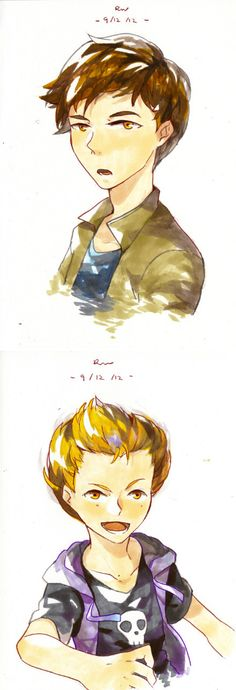 Odd and Ulrich are alwys my favorites, in the real life version as well ·wwwww· so looking forward to Code Lyoko Evolution;www; Tried to draw them using the markers, but the colour of the scanned p...