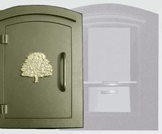 Manchester with security option, Decorative Oak Tree, Bronze