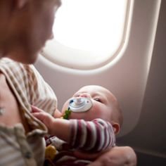 Bringing your young baby on the plane? Be sure you're prepared, in order to minimze the potential disruption and inconvenience to others!