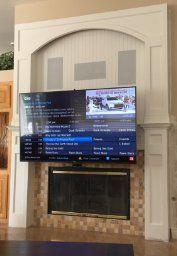 Amazon Com Mantelmount Pull Down Tv Wall Mount Bracket W Full