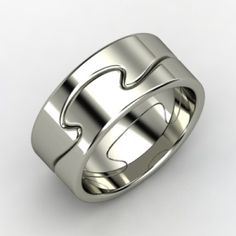 Cool Promise Ring - The Puzzle Ring. by shari