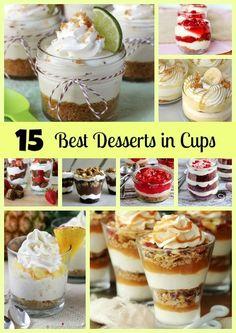 15 Best Desserts in Cups