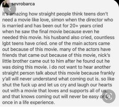 Love Simon, Lgbt Memes, Faith In Humanity Restored, Patriarchy, My Tumblr, Make Me Happy, Writing Prompts, Equality, Feminism