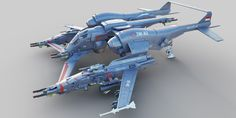 Thrust Challenge - Best Fighter Ship by rofiq alfata | Sci-Fi | 3D | CGSociety