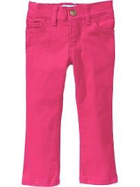 Toddler Girl Clothes: Jeans | Old Navy. These little jeans look and fit great! Purchased them in green for Bean.