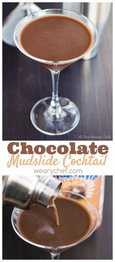You'll love this easy, dairy free chocolate mudslide cocktail recipe! (Sponsored by @lovemysilk) #nutchello #lovemysilk
