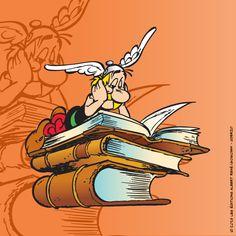 Astérix on books