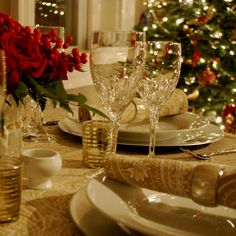 Image Detail For Calm Design Beautiful Christmas Table Expect Peaceful Occurrence