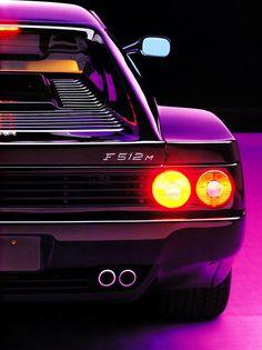 Ferrari Testarossa. My dream car. In purple too <3